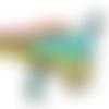 Applique tissu thermocollant : dinosaure 10*5cm (10)