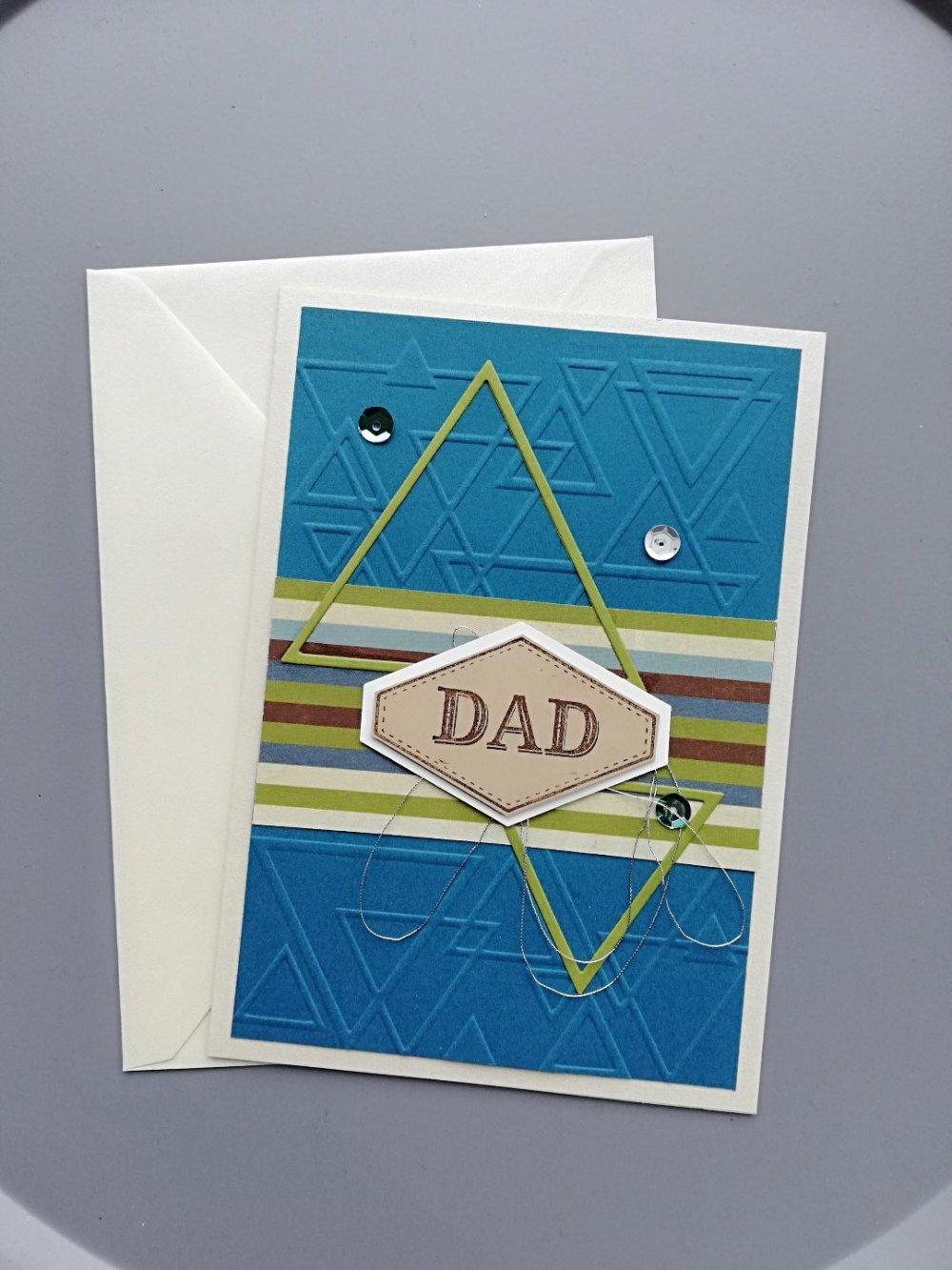 """Carte Fête des Pères """"Dad"""""""