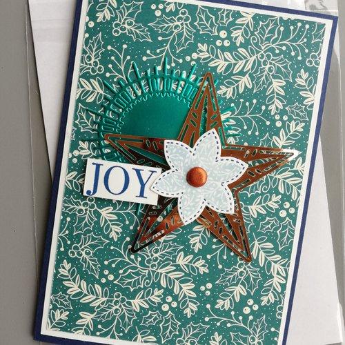"""Carte de vœux """"joy"""""""