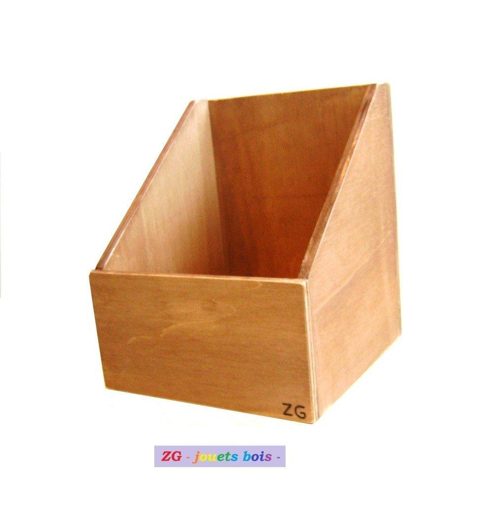 Rangement Pour Le Bois boite rangement pour lettres rugueuses cursives majuscules montessori