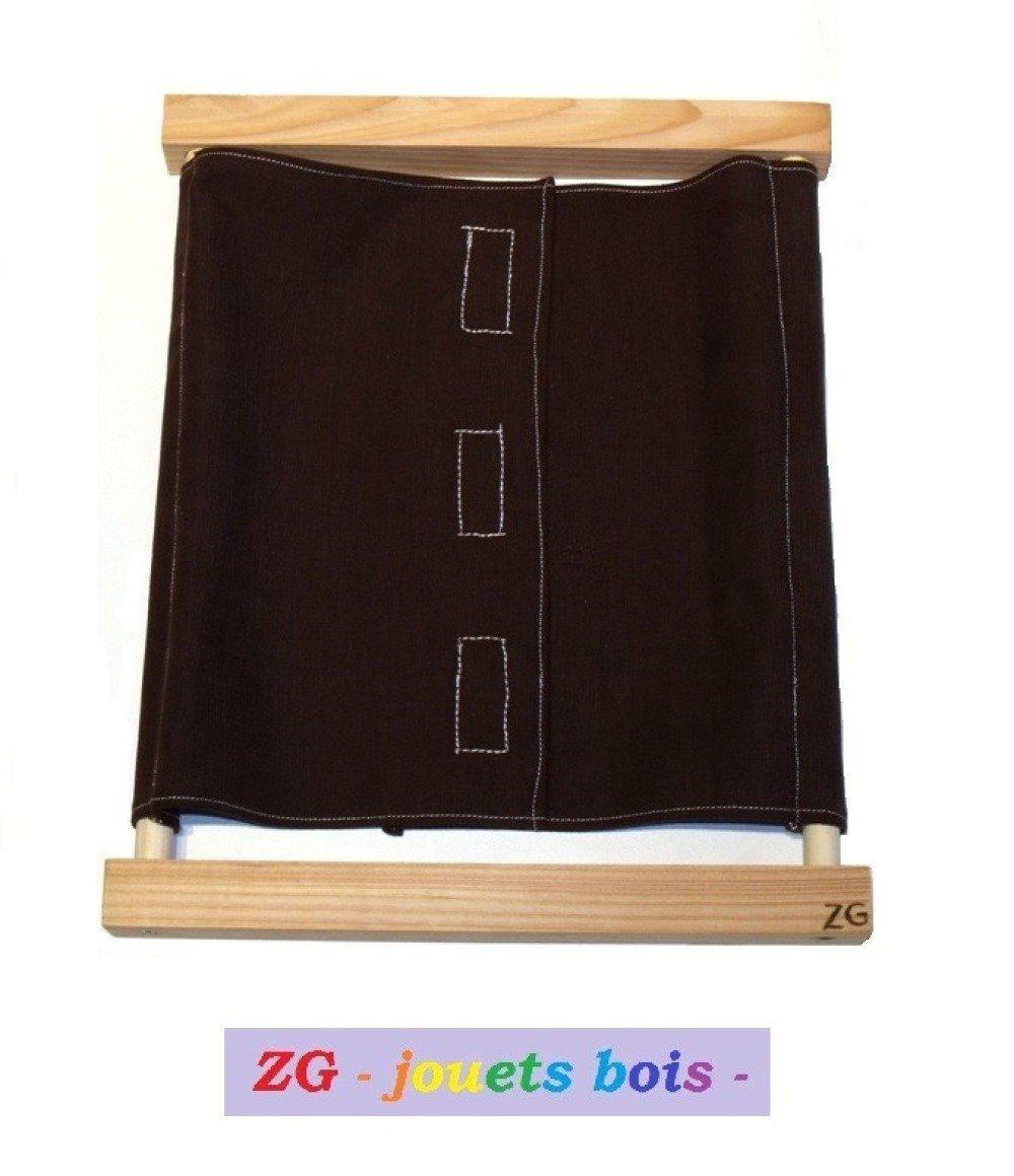 Cadre d'Habillage Montessori Scratchs