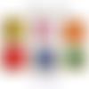 Puzzle / encastrement, forme rond (montessori) couleur au choix