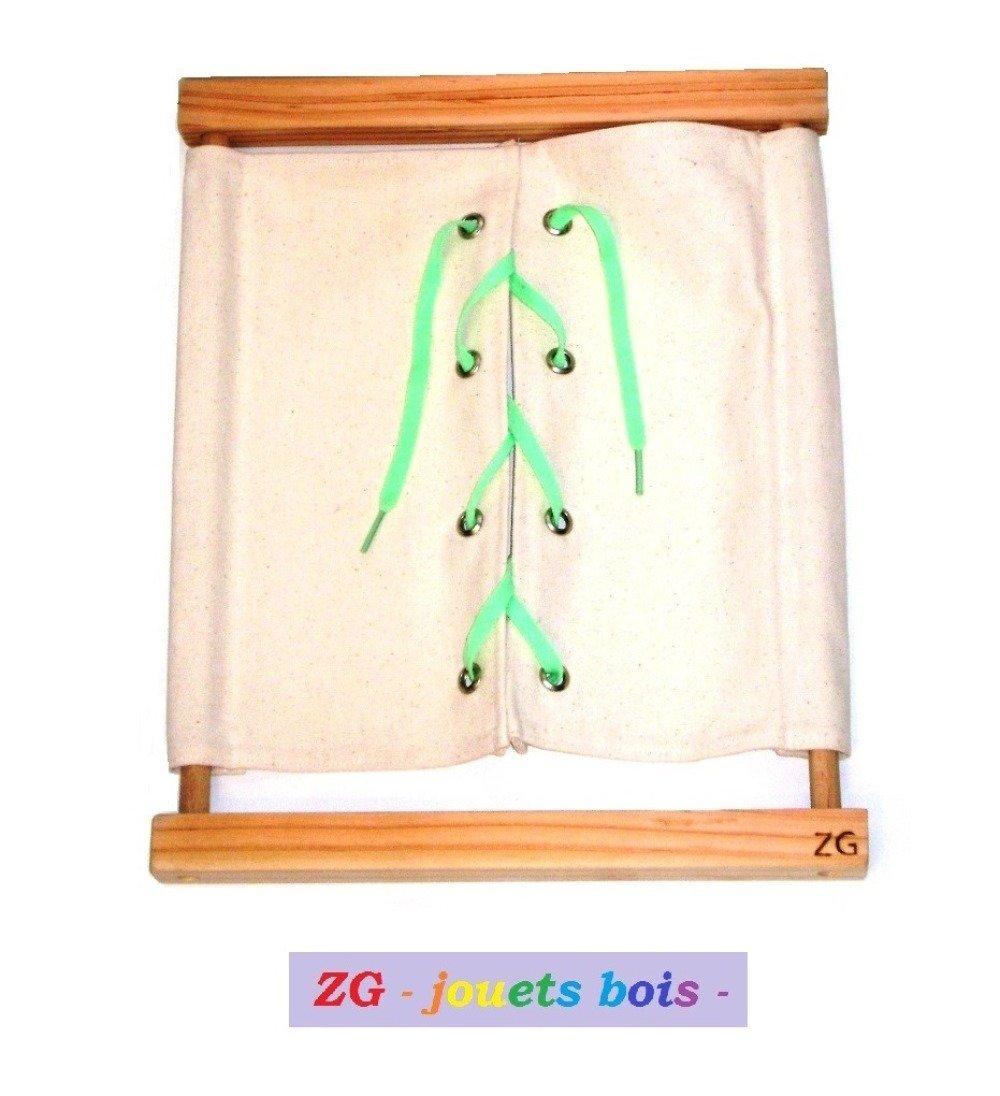 Cadre d'Habillage Montessori Lacet