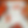 Plat de service en porcelaine motif coquelicots, personnalisable