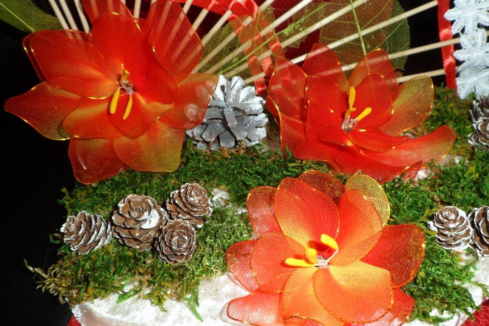 centre de table lumineux décoration fête