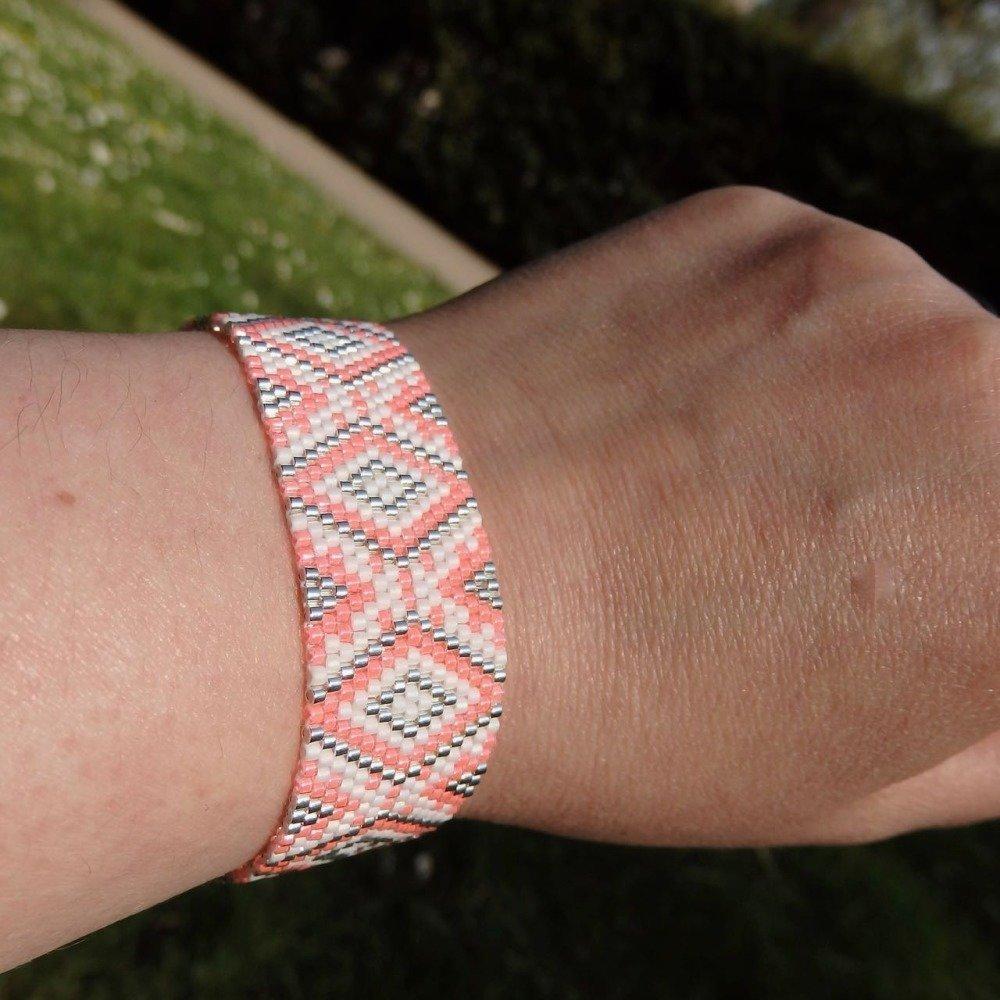 Bracelet Estival -  Rose