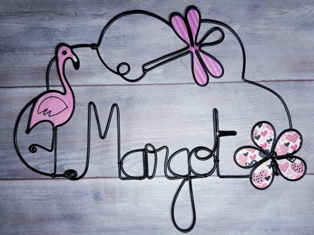 """Décoration murale pour chambre d'enfant, avec prénom, forme """"Nuage"""" ."""