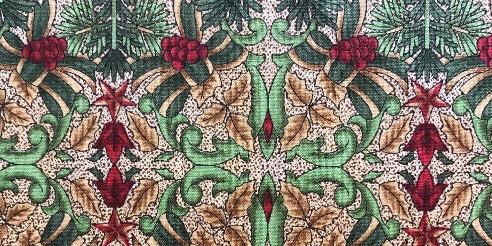 Dénicher le tissu de Noël parfait
