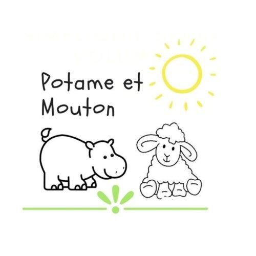 Potame et mouton