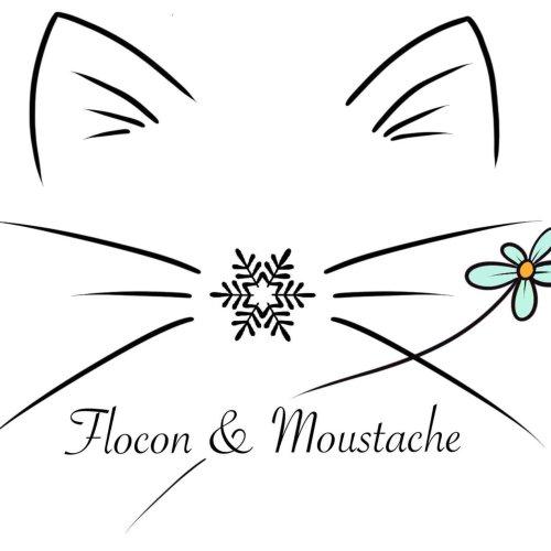 Flocon et moustache