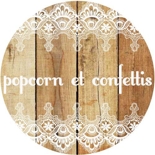 Popcorn et confettis