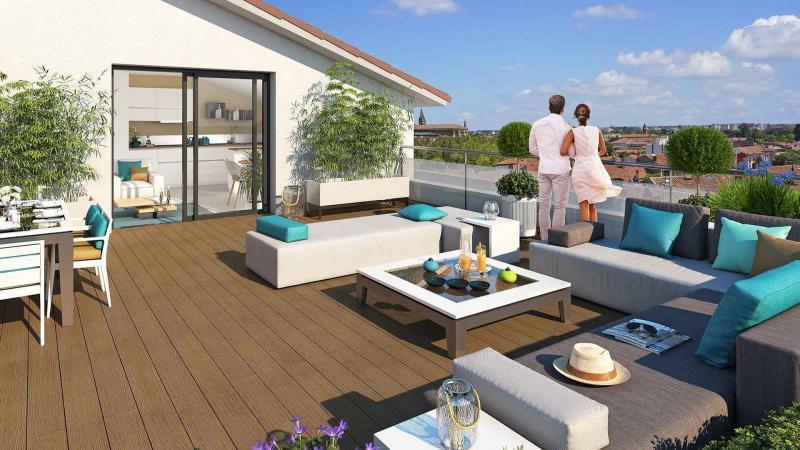 Programme Immobilier Le Jardin Des 36 Ponts A Toulouse A Partir De