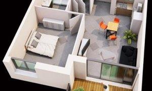 Appartement 2pièces 46m² Rodez
