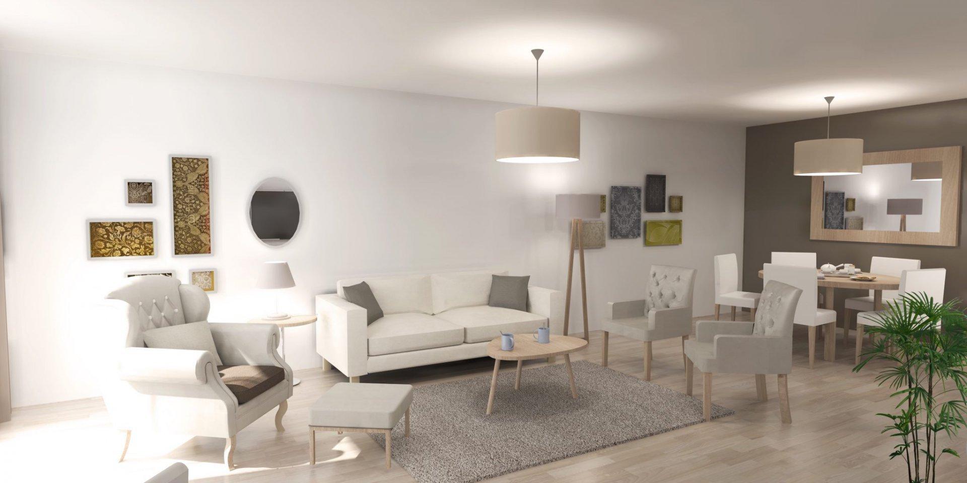 Appartement 2pièces 46m² à Paris 13e