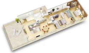 Appartement 5pièces 94m² Bondy