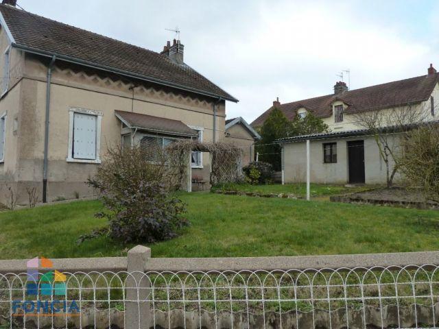 Maison 4pièces 75m² Montceau-les-Mines