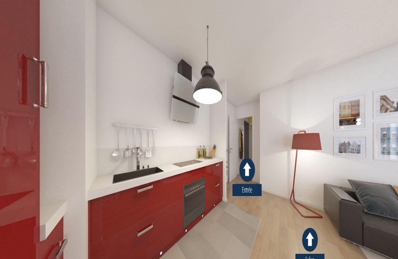 Appartement 1pièce 25m² Clamart