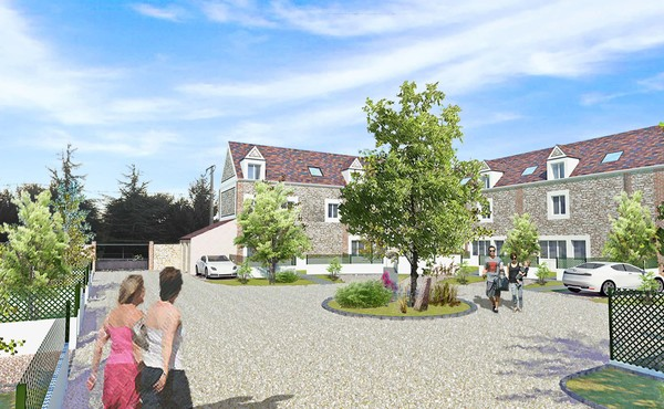 Residence de la tuilerie jouars pontchartrain for Agence immobiliere jouars pontchartrain