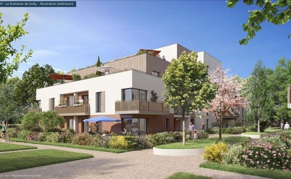 Programme immobilier le domaine de sully au mesnil saint for Avant premiere immobilier neuf