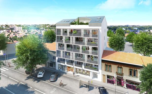 Programme immobilier l 39 intervalle toulouse 22 biens for Salon du logement neuf toulouse