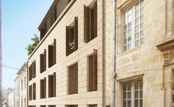 Programme immobilier heritage saint michel bordeaux 3 for Appartement bordeaux st michel