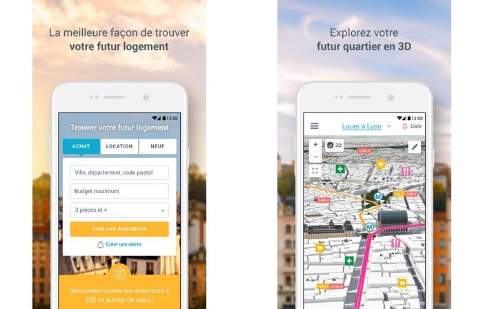 Lappli Bienici Maintenant Disponible Sur IOS Et Android