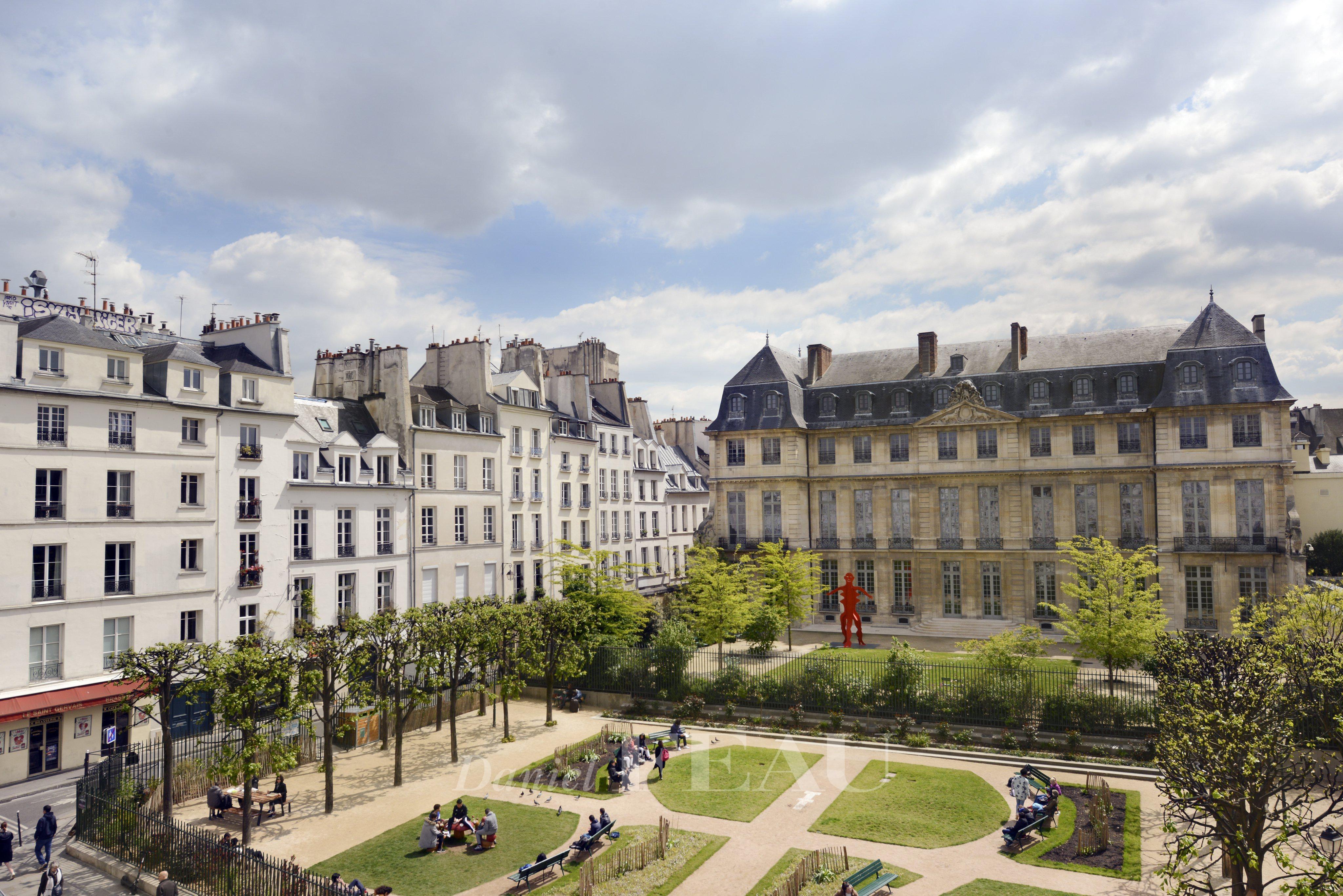 Appartement 4pièces 86m² Paris 3e