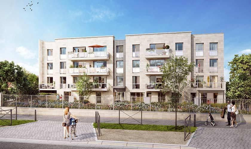 Programme Immobilier Les Jardins Florentins A Vanves 54 Biens