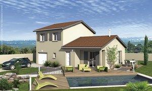 Maison neuve 5pièces 107m² Bougé-Chambalud