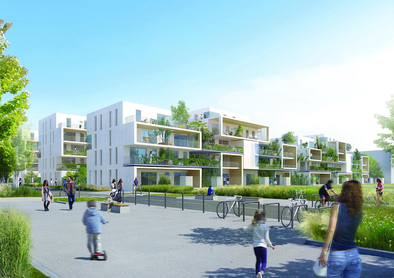 Programme immobilier garden village à villeurbanne biens neufs