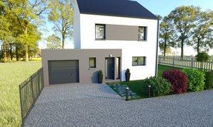 Maison neuve 4pièces 102m² Crossac