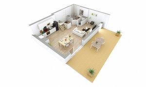 Appartement 4pièces 91m² Lyon 8e