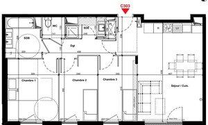 Appartement 4pièces 76m² Bondy