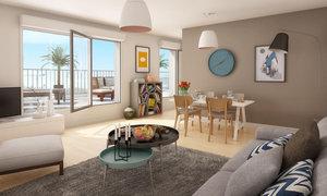 Appartement 3pièces 62m² Colombes