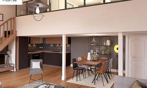 Appartement 3pièces 87m² Lyon 4e