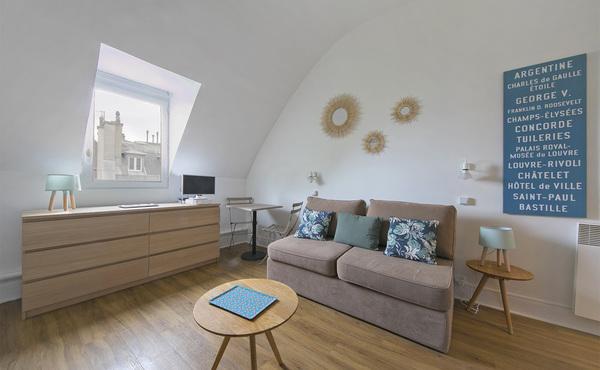 Location Studio Meublé 17 M² Paris 6e 1 200