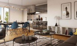 Appartement quatre pièces BALCON au 3ème étage (4pièces, 70m²) Meudon-la-forêt