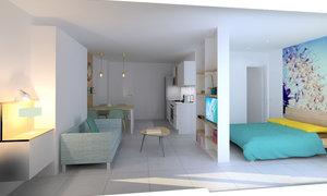 Appartement 1pièce 38m² Albitreccia