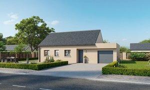 Maison neuve 3pièces 60m² Bruay-sur-l'Escaut