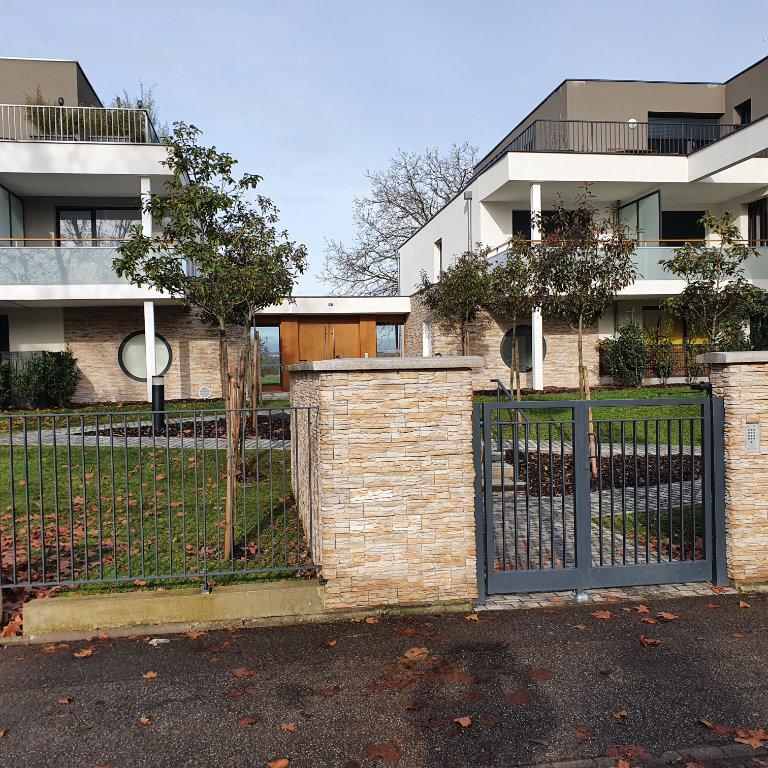 Strasbourg Robertsau Appartement Rez-de-jardin 2 pièces