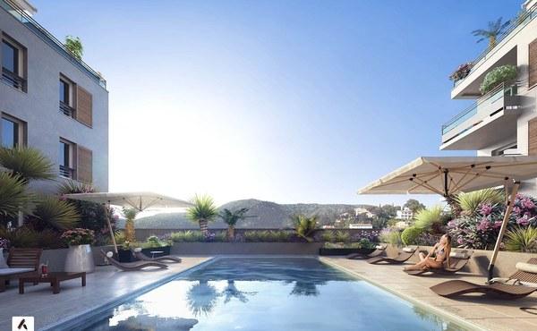 Programme immobilier blue patio au lavandou 9 biens for Aide achat immobilier neuf