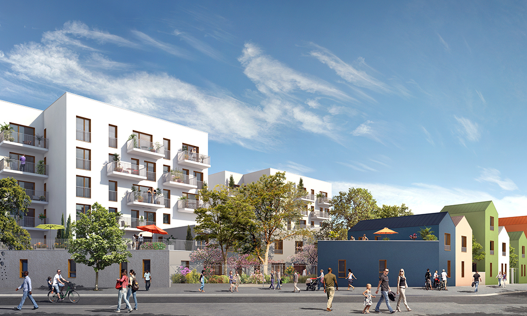 Programme immobilier o coeur nature la courneuve for Aide achat immobilier neuf