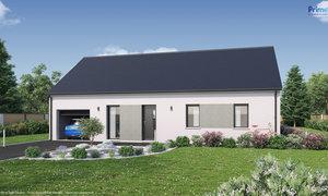 Maison neuve 5pièces 91m² Saint-Benoît