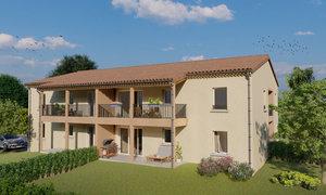 Appartement 2pièces 44m² L'Isle-sur-la-Sorgue