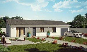 Maison neuve 4pièces 95m² Montrond-les-Bains