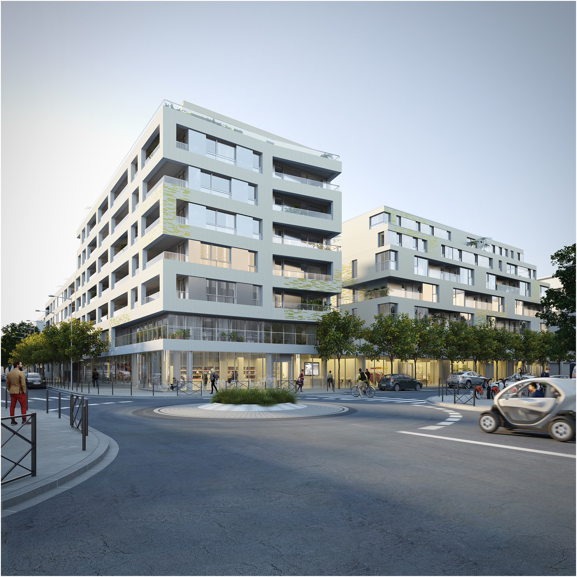 le jardin de la madeleine (3 pièces, 58 à 62 m²) nantes - 267 300
