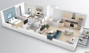 Appartement neuf 3pièces 63m² Saint-Maximin
