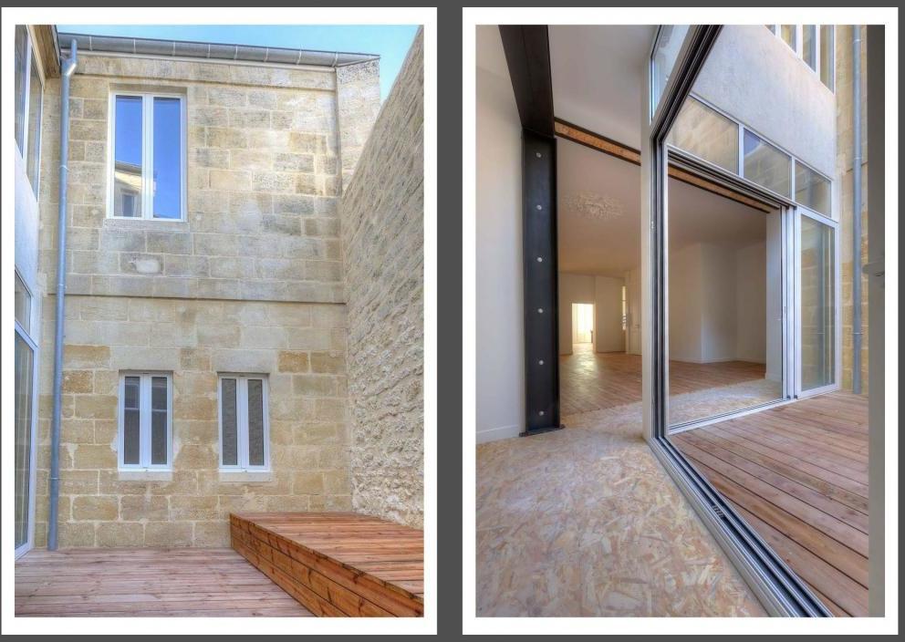 2 Immeubles dans le centre ville de Bordeaux (33)
