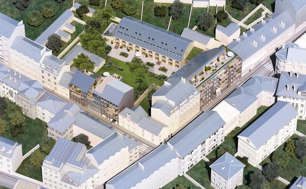 programme immobilier cour bastille nantes 9 biens neufs 202 000 725 000. Black Bedroom Furniture Sets. Home Design Ideas