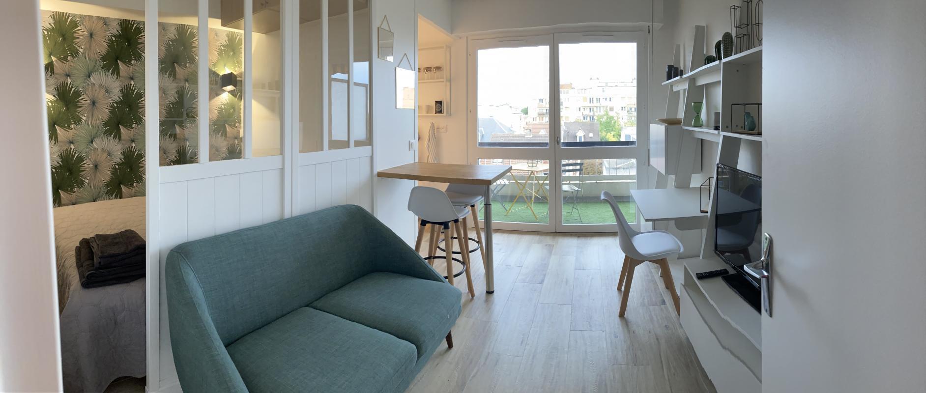 Appartement a louer colombes - 1 pièce(s) - 21 m2 - Surfyn